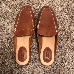 Sperry Leather Mules